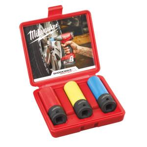 Milwaukee pipesett til hjulbolter 3 stk verktøy.no