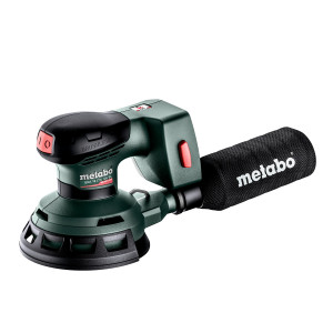 Metabo 18V Eksentersliper SXA 18 LXT 125 BL i metaBOX Uten batteri & lader Verktøy.no