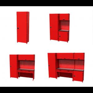Teng Tools verktøyoppbevaring hyllesystem S-M-L-XL verktøy.no